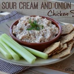 Sour Cream Chicken Salad