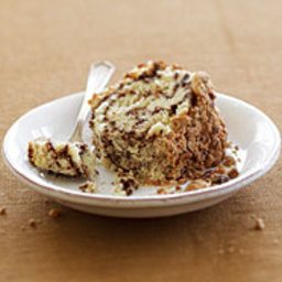 Sour Cream Coffee Cake with Toasted Pecan Filling