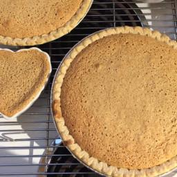 Sour Cream Raisin Spice Pie