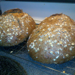 Sourdough Oat Bread