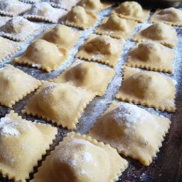 Sourdough Ravioli with Whole Grain Kamut