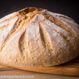 Sourdough Semolina Einkorn Bread for Two