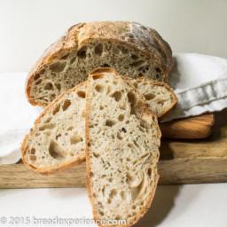 Sourdough Spelt Rosemary Loaf