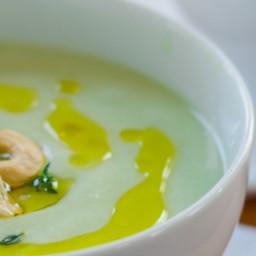 Sous Vide Creamy Vegan Cauliflower Soup