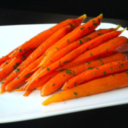 Sous-Vide Glazed Carrots