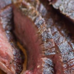 Sous Vide Kahlua-Marinated Flank Steak