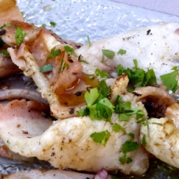 Sous Vide Squid in Garlic and Parsley Sauce