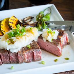 Sous Vide Steak - Japanese Style (Wafu Steak)