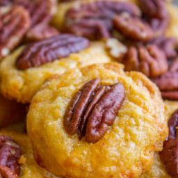 Southern Pecan Cheese Wafers