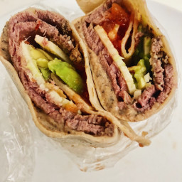Southwest Beef Wraps
