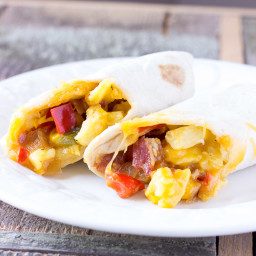Southwest Breakfast Burritos - Freezer Friendly Recipe