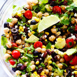 Southwest Chickpea Salad
