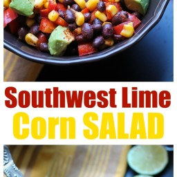 Southwest Lime Corn Salad