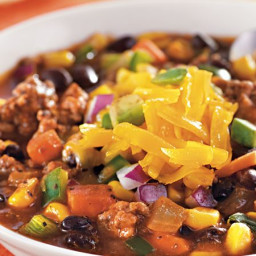 Southwestern Beef Chili with Corn