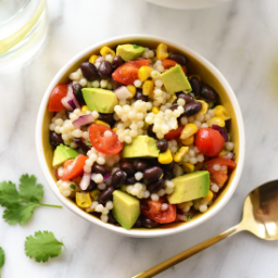 Southwestern Black Bean Couscous Salad