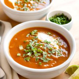 Southwestern Butternut Squash Soup