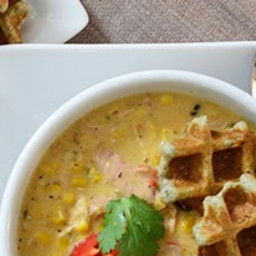 Southwestern Chicken and Charred Corn Chowder