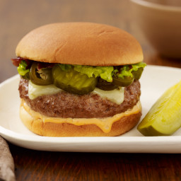 Southwestern Pickled Jalapeño Burger