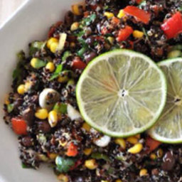 Southwestern Quinoa with Chili-Lime Dressing