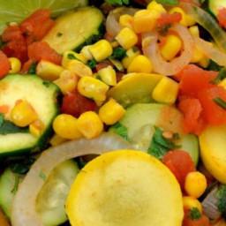 Southwestern Veggie Skillet Recipe