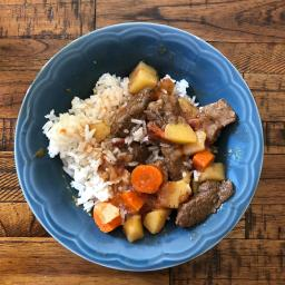 Soy Beef Potato Stew