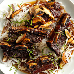 Soy-Braised Short Ribs with Shiitakes