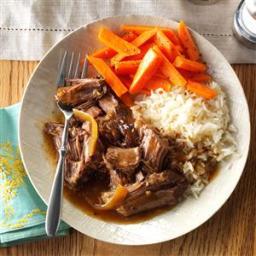 Soy-Ginger Pot Roast Recipe