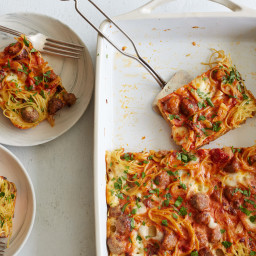 Spaghetti-and-Meatballs Casserole