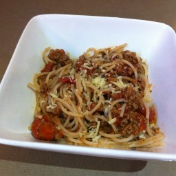 Tasty Spaghetti Bolognase