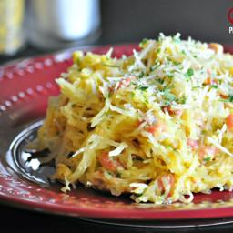 Spaghetti Squash Carbonara – Low Carb, Gluten Free