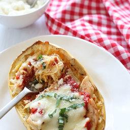 Spaghetti Squash With Chicken