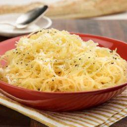 Spaghetti Squash with Parmesan Cheese