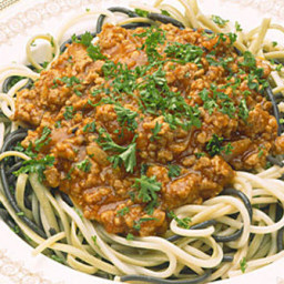 Spaghetti with Pork Meat Sauce