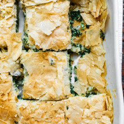 Spanakopita Recipe (Greek Spinach Pie)