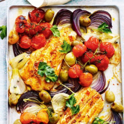 Spanish baked fish