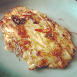 Spanish cheese omelets