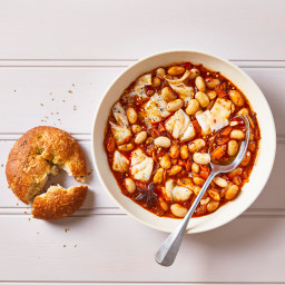 Spanish Haddock & Butter Bean Stew