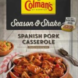 Spanish Pork Casserole (Colman's Season & Shake)