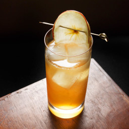Sparkling Apple Sherry Cocktail Recipe