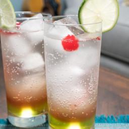 Sparkling Cherry Lime Soda
