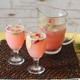 Sparkling Cranberry-Lime Seltzer