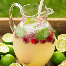 Sparkling Honey Limeade