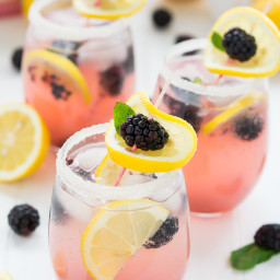 Sparkling Blackberry Lemonade