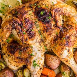 Spatchcock Chicken Recipe Video