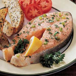 Special Salmon Steaks Recipe