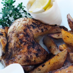 Speedy Roast Chicken and Chips