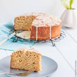 Spelt, zucchini and lemon cake