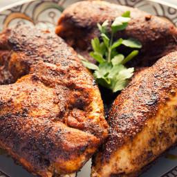 Spice Rubbed Chicken Recipe
