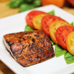 Spice Rubbed Salmon Fillet