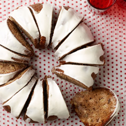 Spiced Apple-Walnut Cake with Cream Cheese Icing
